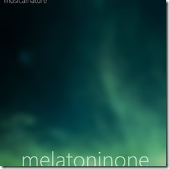 Melatonin One - Cover - with text